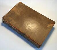 Select Fables, Thomas And John Bewick, 1820 Antique Rare Book