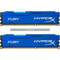16GB 2x 8GB DDR3 1333 MHz PC3-10600U for Kingston FURY HyperX DIMM Desktop Ram
