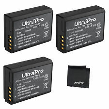 3x LP-E10 LPE10 Battery + BONUS for Canon Rebel T3, EOS T5, 1100D, Kiss X50, T6