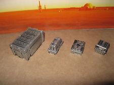 Star Wars G.I. Joe Custom Cast Diorama Parts 3.75 Scale Figures Crates Set of 4