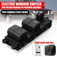 RHD Master Power Window Switch For Nissan Navara D40 Pathfinder R51 Qashqai J10