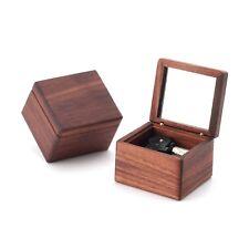 Sankyo Dark Natural Wood Music Box ♫ Pandora Heart -Everytime You Kissed Me ♫