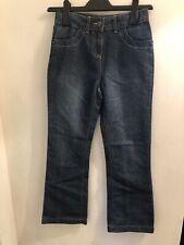 Size 8-9 years Brand new. George Denim Skinny girls Fabulous embroidery jeans
