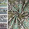 Tessuto ESTELIA Velluto Al Metro Fantasia Colorato h.140 cm Tendaggi Tappezzeria