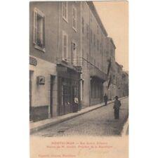 MONTELIMAR rue quatre alliances maison de M. Loubet président coiffeur tabac