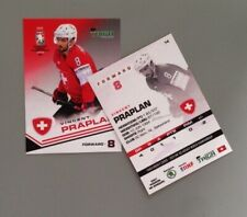Taiga Vincent Praplan Team Switzerland IIHF World Championship 2021
