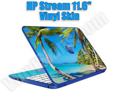 Choose Any 1 Vinyl Sticker/Skin for HP Stream Laptop + Palmrest  - Free Shipping