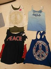 Justice Size 14 knit tops, NWT SET OF 4