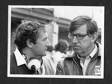 Dated 1976 Photo Image of Ken Tyrell & Derek Gardner: Motor Racing