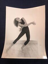 Glossy Black & White Photo Male Ballet Dancer Gay Interest 1989