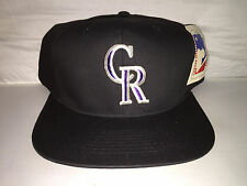 Vtg Colorado Rockies Snapback hat cap 90s MLB Baseball deadstock Drew Pearson og