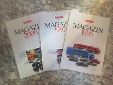 WIKING Konvolut Katalog verschiedene Jahrgänge
