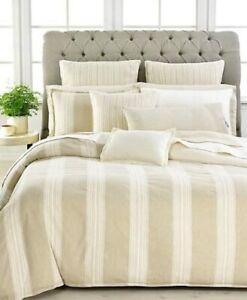 NWT $142 Ralph Lauren Modern Naturals Decorative PILLOW Cream Cotton Blend 20x20