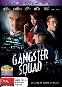 Gangster Squad DVD (Pal, 2013) Free Post