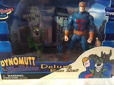 2003-TOYNAMI DYNOMUTT & THE BLUE FALCON DELUXE BOX SET-HANNA BARBERA MISB VHTF
