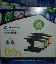 Brother LC-75  Multi-Pack (Cyan/Magenta/Yellow)