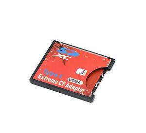 SD SDHC SDXC to CF Compact Flash Speicherkarte Adapter Reader Type I R03