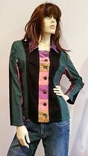 GABRIELLA FRATTINI Multicolour Lightweight Jacket Ladies Size 14 NWT NEW