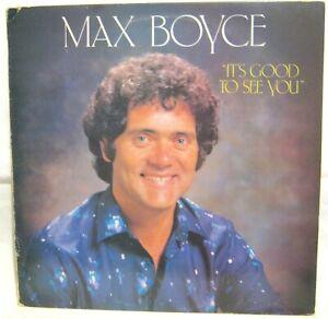 LP Vinyl Album Max Boyce It's good to see you EMI Records MAX1004 1981