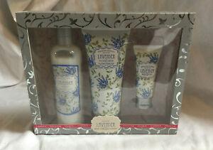 ENGLISH FLORAL GARDEN Lavender Body Care Collection GIFT SET