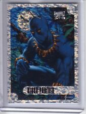 2016 Marvel Masterpieces SPECKLE Holofoil #16 BLACK PANTHER #/99 - FREE US Ship