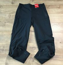 2020 PUMA Ultradry StormCell Rain Gear Golf Pants Black Mens SZ M ( 595416 01 )
