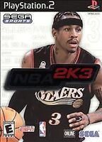 NBA 2K3 (Sony PlayStation 2, 2002) PS2, Disc Only, Tested
