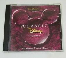 Classic Disney, Volume 1: 60 Years of Musical Magic CD Aladdin Lion King Bambi