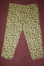 US Army Early Special Forces Duck Hunter Camoflauge Pants