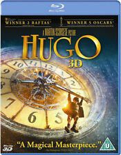 HUGO 3D****BLU-RAY****REGION B****NEW & SEALED