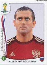 N°620 ALEKSANDR KERZHAKOV # RUSSIA STICKER PANINI WORLD CUP BRAZIL 2014