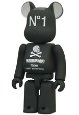 Series 24 Be@rbrick Secret Artist 100% Bearbrick Chase Neighborhood NBHD Black