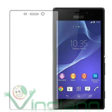 2x Film transparent pour Sony Xperia M2 protection triple couche display