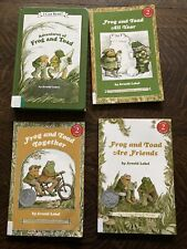 Frog And Toad Book Lot Of 4