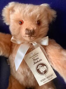 1980's Limited Edition Mohair Bear by Merrythought is Mint in Box!