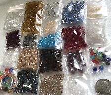 Nice Lot Of Harvested, Faceted Beads For Jewelry Making