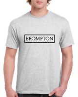 Brompton T Shirt Vintage Cycling Top hoodie bike Retro tee NEW Printed