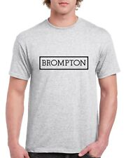 Brompton T Shirt Vintage Cycling Top hoodie bike Retro tee NEW Printed Eroica
