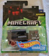 Hot Wheels Minecraft Spider