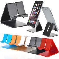 Aluminum Metal Desktop Desk Stand Holder Mount For Cell Phone and Tablet