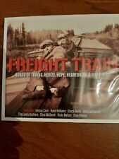2xCD FREIGHT TRAIN. Country songs. BRAND NEW SEALED. FAST and FREE DELIVERY