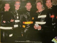 'N Sync, Nsync, Popular, Double Full Page Vintage Pinup, N Sync
