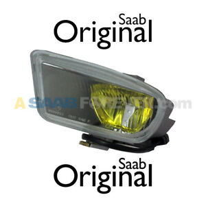 SAAB 9000 CSE FOG LIGHT AMBER LEFT DRIVER SIDE NEW GENUINE OEM 4344198