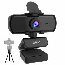 1440p Full HD PC Webcam USB Microphone Desktop Tripod Live Stream Video Calling