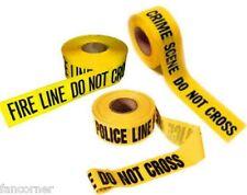 Lot 3 Bandes jaune de Police et pompiers vu dans séries US crime scene tape