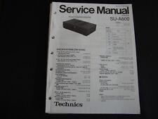 ORIGINALI service manual Technics amplifier su-a600