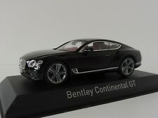 Bentley Continental Gt 2018 Beluga Nero 1/43 Norev 270320