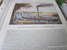 Berlin Archiv 5 Bürgerstadt 4013 Dampfer Prinzessin Charlotte von Preußen 1817