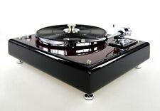 Restaurierter Thorens TD160 Plattenspieler schwarz bordeaux rot met. & SME 3009