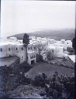 Maroc Algérie Tunisie ou Espagne, NEGATIF Photo Stereo Plaque Verre c1900